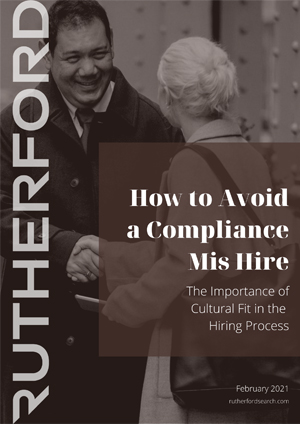cover of rutherford guide how to avoid a compliance mis hire