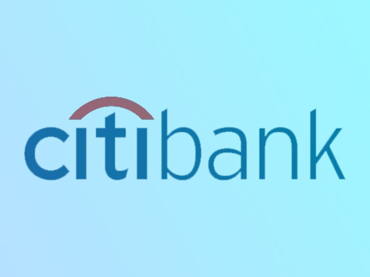 citibank logo with blue gradient